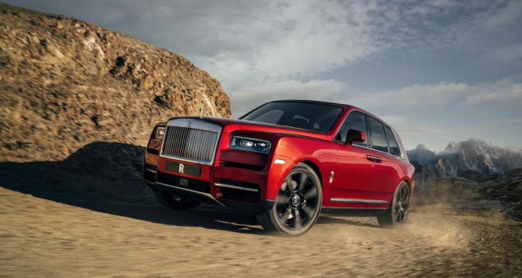 Rolls-Royce 'Cullinan': A Rival For The Phantom?